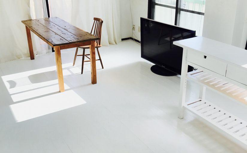 茶色の床を白く塗って   <br>            沼畑直樹